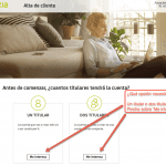 Cómo abrir una cuenta en Bankia paso 3