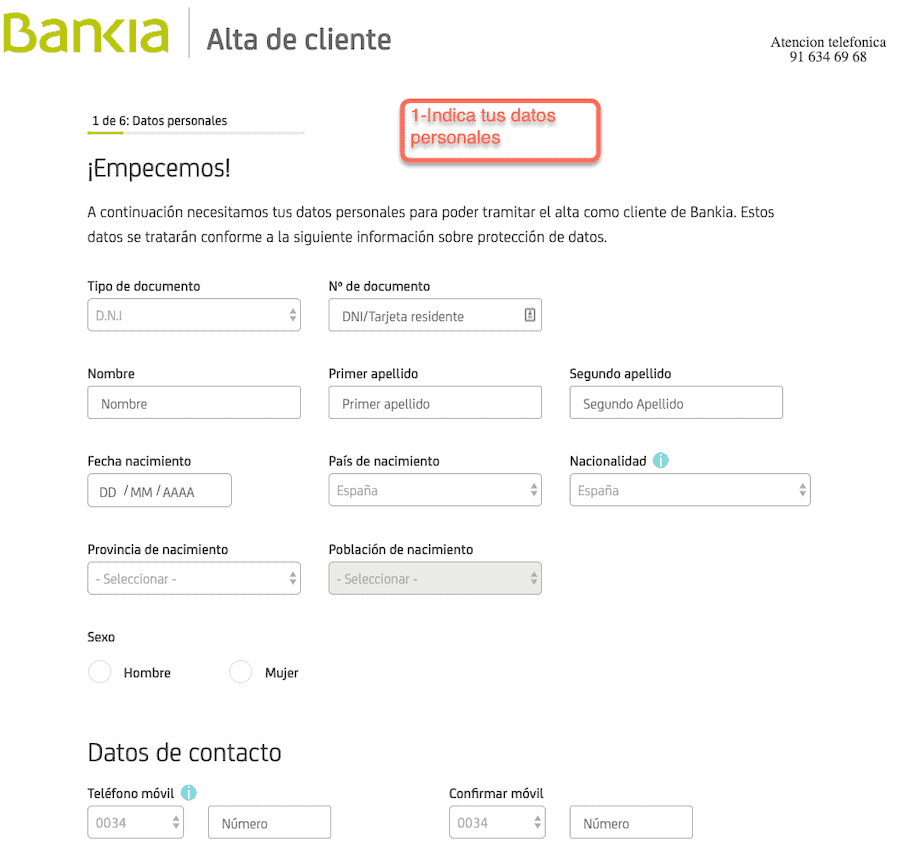 Requisitos para pedir un prestamo bankia