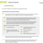 Formulario de registro con Bankia paso 6