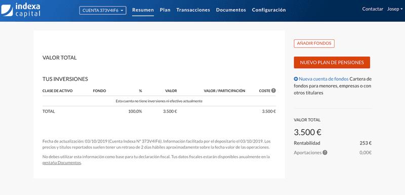 Indexa Capital Funcionamiento