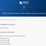 Abrir cuenta con Indexa Capital paso 8