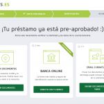 Solicitar un préstamo con Vivus paso 6
