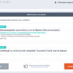 Solicitar un crédito con Younited Credit, paso 3