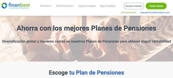 Planes de pensiones Finanbest